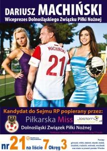 plakat_wyborczy_dariusz_machinski_wybory_sejm_RP